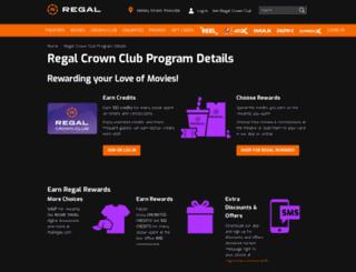 rcc.regalcinemas.com screenshot