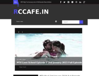 rccafe.in screenshot