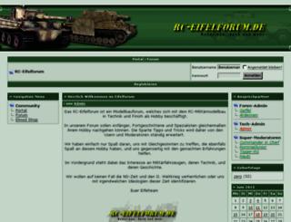 rceifel.de screenshot