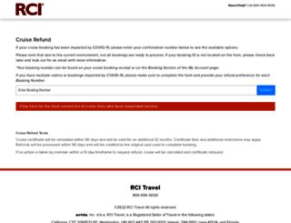 rcitravel.com screenshot