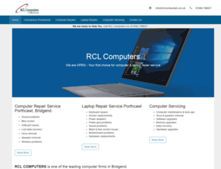 rclcomputers.co.uk screenshot