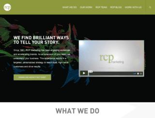 rcpmarketing.com screenshot