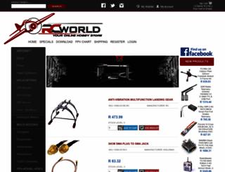 rcworld.co.za screenshot