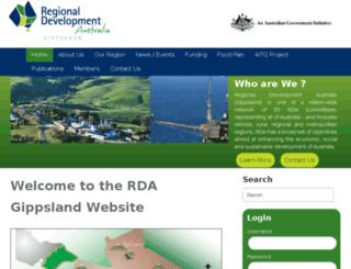 rdagippsland.com.au screenshot