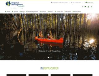 rdamurray.org.au screenshot