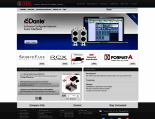 rdlnet.com screenshot