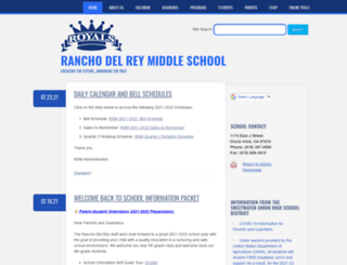 rdm.sweetwaterschools.org screenshot