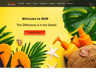 rdmerchandising.com screenshot