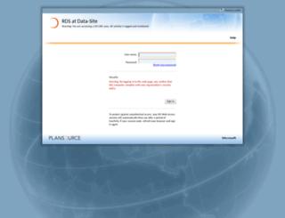rds.plansource.com screenshot