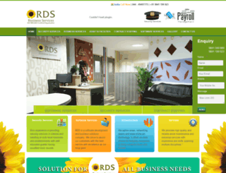 rdsbusinessservices.in screenshot