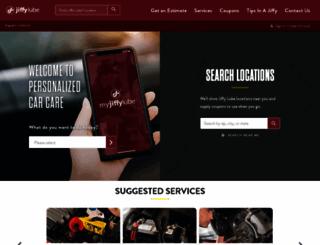 rdu.jiffylube.com screenshot