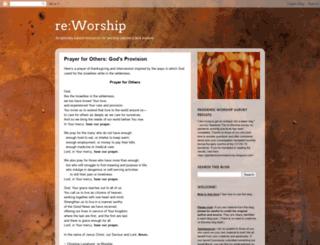 re-worship.blogspot.ca screenshot
