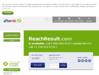 reachresult.com screenshot