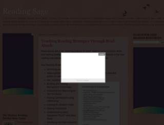 reading-sage.blogspot.com screenshot