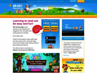 readingeggs.com.au screenshot