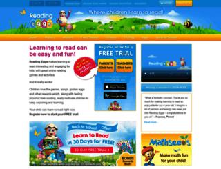 readingeggs.com screenshot