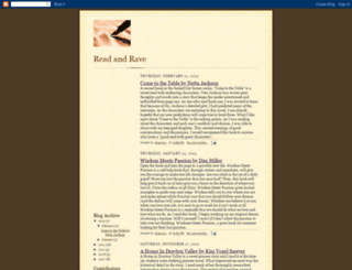 readnrave.blogspot.com screenshot