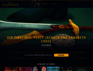 readriordan.com screenshot