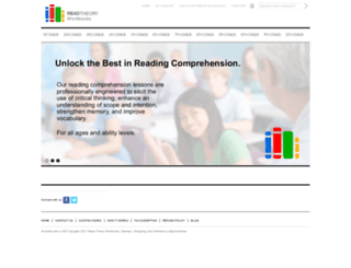 readtheoryworkbooks.com screenshot