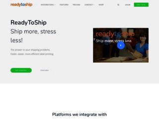 readytoship.com.au screenshot