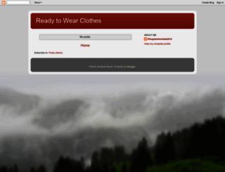 readytowearclothes.blogspot.com screenshot