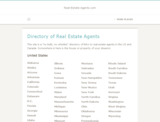 real-estate-agents.com screenshot
