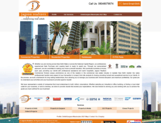 real-estate-india.com screenshot