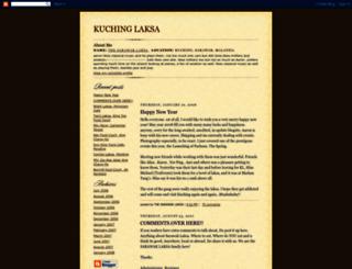 real-sarawaklaksa.blogspot.com screenshot