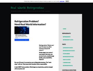 real-world-refrigeration.com screenshot