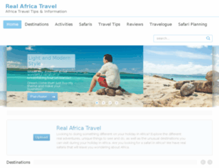 realafricatravel.com screenshot