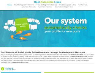 realautomaticlikes.com screenshot