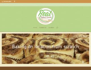 realbakedgoods.com screenshot