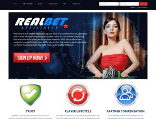 realbetaffiliates.com screenshot