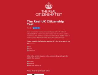 realcitizenshiptest.co.uk screenshot