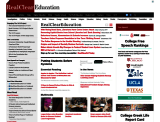 realcleareducation.com screenshot