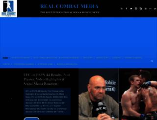 realcombatmedia.com screenshot