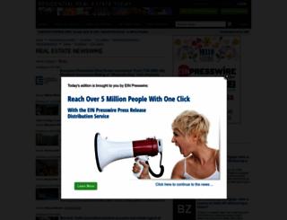 realestate.einnews.com screenshot