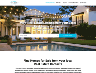 realestatecontacts.com screenshot