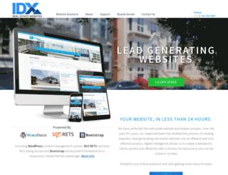 realestateidxwebsites.com screenshot