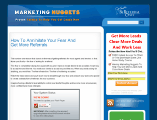 realestatemarketingnuggets.com screenshot