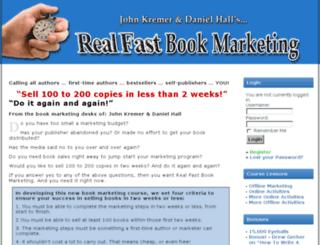 realfastbookmarketing.com screenshot