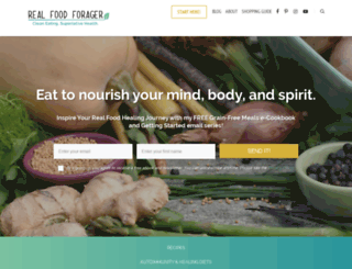 realfoodforager.com screenshot