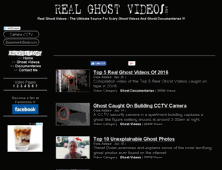 realghostvideos.net screenshot