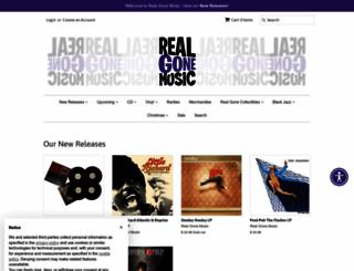 realgonemusic.com screenshot