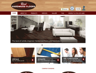 realhardwoodfloors.net screenshot