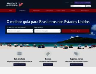 realidadeamericana.com screenshot