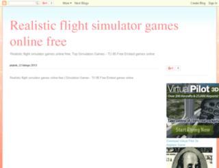 realistic-flight-simulator-games-free.blogspot.com screenshot