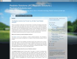 realistixsolutionsonline.blogspot.in screenshot