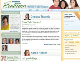 realiteen.onslow.org screenshot
