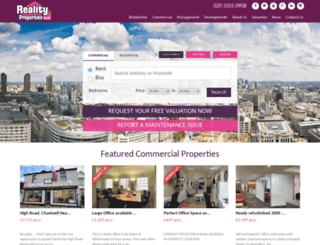 realityproperties.co.uk screenshot